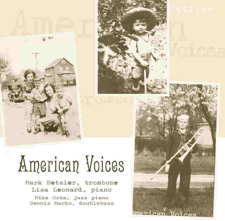 American Voices trombone CD: Mark Hetzler