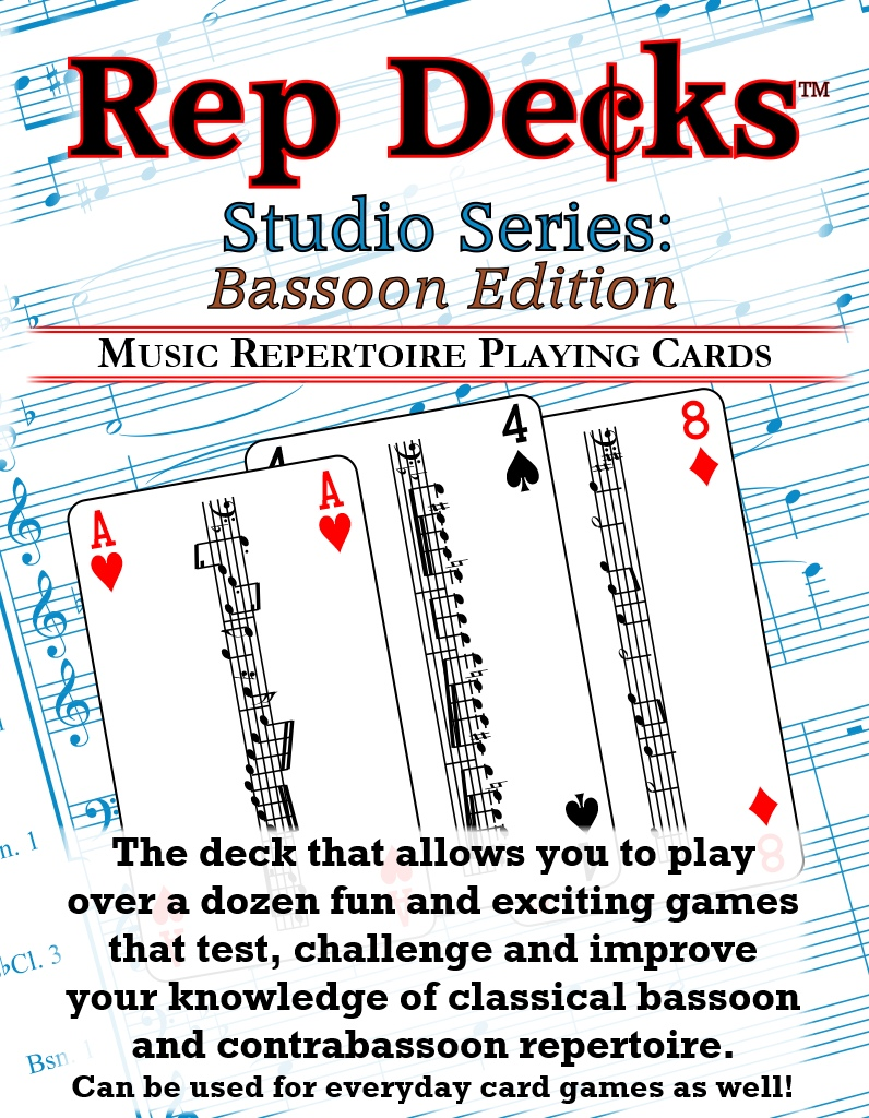 Rep Decks Series Series: Bassoon Edition