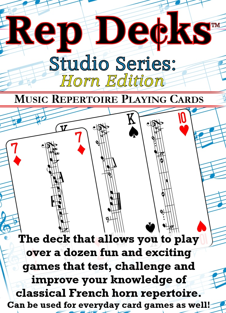 Rep Decks Studio Series: Horn Edition