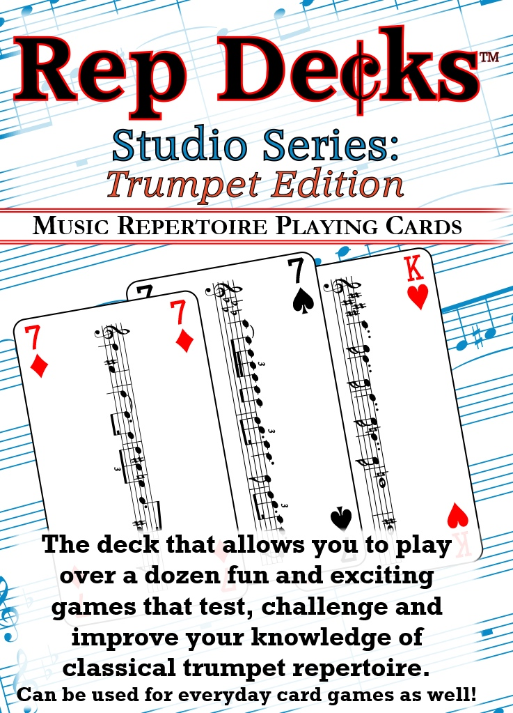 Rep Decks Studio Series: Trumpet Edition