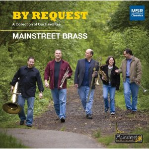 By Request brass quintet CD: Mainstreet Brass Quintet