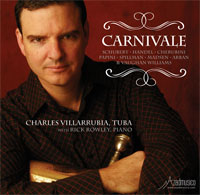Click here for the Carnivale CD featuring Charlie Villarrubia and other tuba CDs