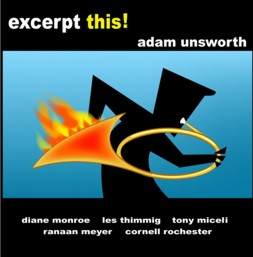 Excerpt This! jazz French horn CD: Adam Unsworth