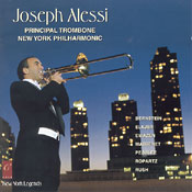 Click here for New York Legends trombone CD featuring Joe Alessi and other trombone CDs